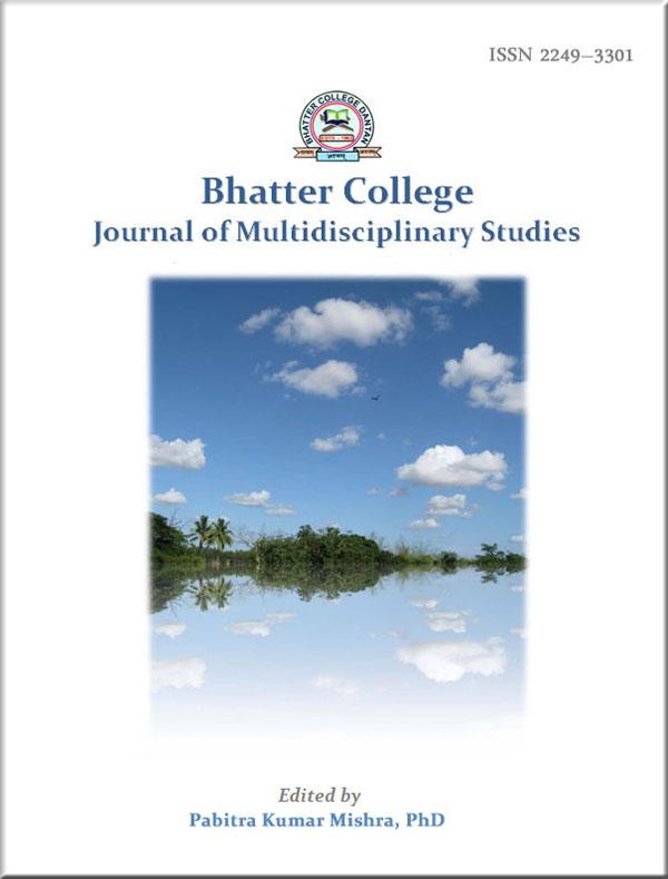 Bhatter College Journal of Multidisciplinary Studies, Volume 1, 2011